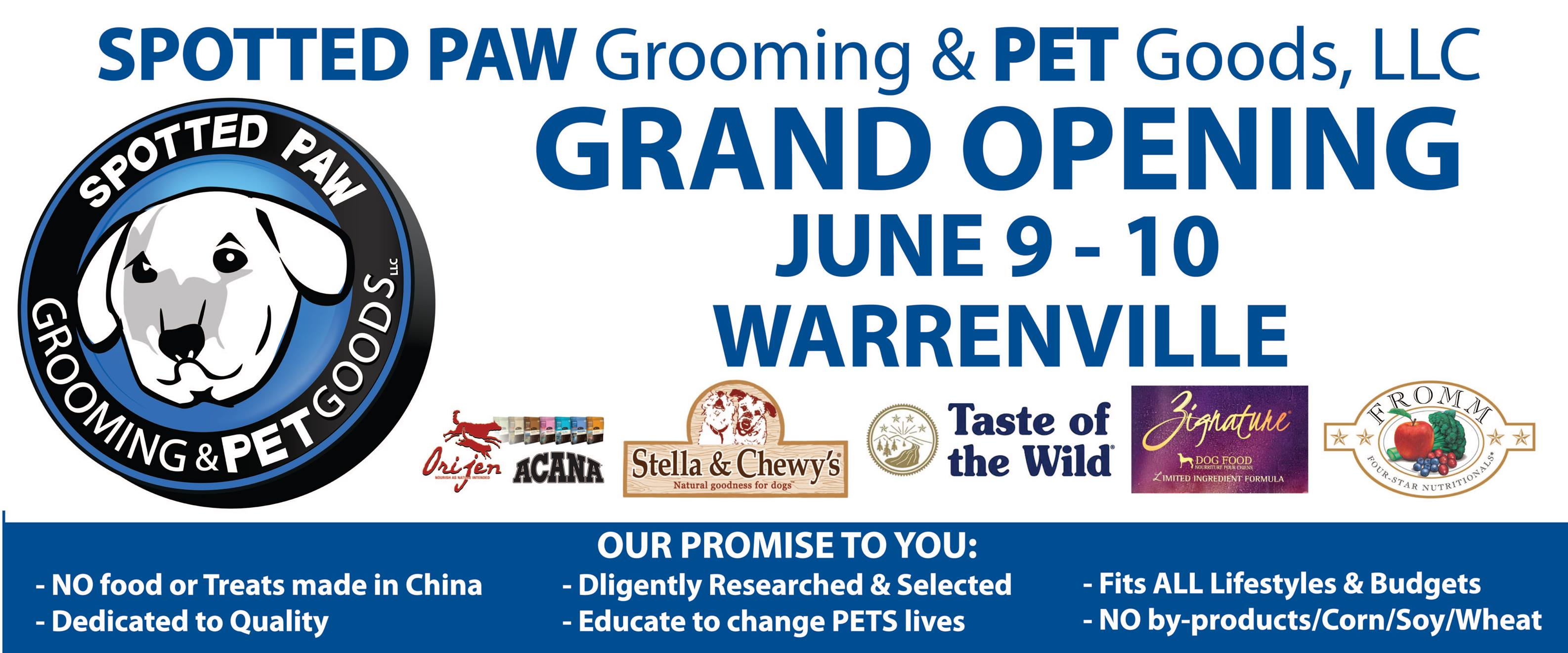Warrenville Grand Opening